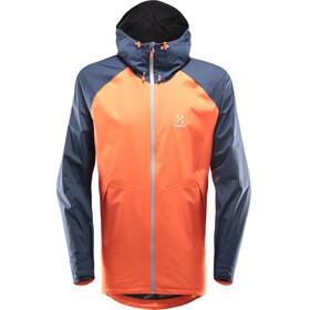 Haglöfs M's Esker Jacket Cayenne/Tarn Blue